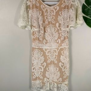 For Love and Lemons Lace Backless Dress